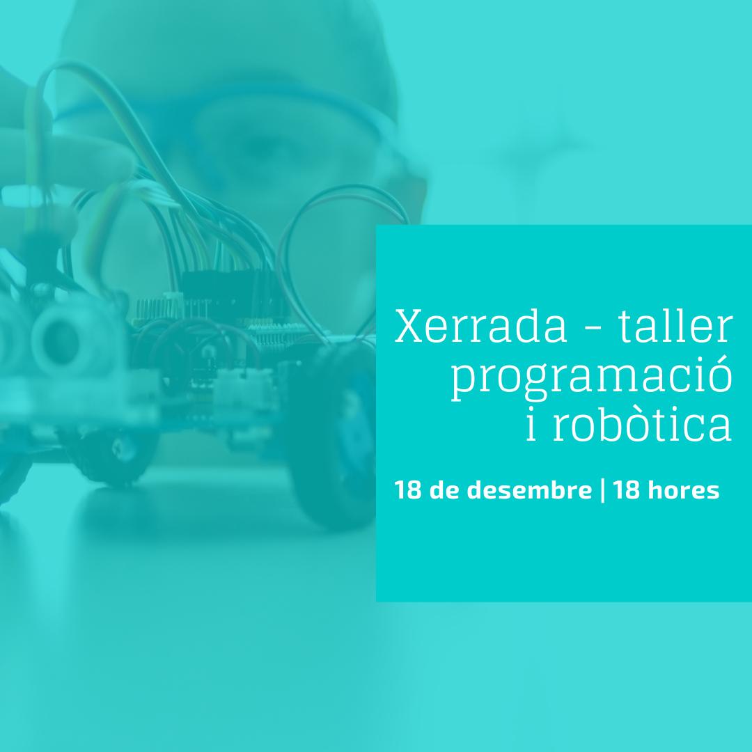 Xerrada-taller sobre programació i robòtica